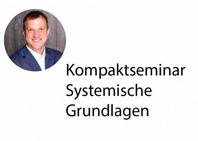 Kompaktseminar Systemische Grundlagen
