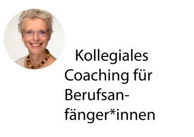 Kollegiales Coaching für Berufsanfänger*innen